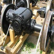 Ремонт колесных пар и экипажных частей тепловозов